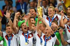 After 24 Years.......#Germany claims #FIFA2014 title......http://www.wishesh.com/top-stories/37486-germany-crowns-fifa-2014-title.html  Germany have won the FIFA World Cup 2014 with 1-0 score over Argentina at Rio de Janeiro's Maracana Stadium......