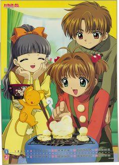 Shaoran, Sakura y Tomoyo // Cardcaptor Sakura