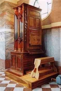 Berlin - Collection d'instruments anciens Junghans-Neumayer Orgue neuf - 1987- Remy Mahler Facteur d' Orgues