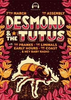 Desmond & The Tutus Poster on Behance by Ian Jepson
