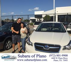 https://flic.kr/p/KteUJt | Happy Anniversary to Leslie on your #Subaru #XV…