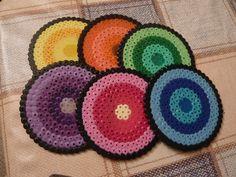 posavasos hama beads en pinterest - Buscar con Google