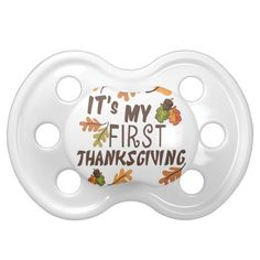 Shop My Thanksgiving Pacifier created by lesrubadesigns. Personalize it with photos & text or purchase as is! Thanksgiving Traditions, Thanksgiving Parties, Thanksgiving Decorations, Thanksgiving Outfit, Thanksgiving Ideas, Thanksgiving Invitation, Holiday Invitations, Babys First Thanksgiving, Christmas Party Outfits