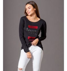 Μπλούζα με στάμπα #1 Rule - Μαύρο Graphic Sweatshirt, Sweatshirts, Sweaters, Fashion, Moda, Fashion Styles, Trainers, Fasion, Sweater