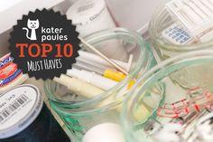 """Top 10 Montag! Die """"Must Haves"""" für Nähanfänger!"""