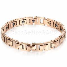 "8MM Women's Rosegold Tone Tungsten Carbide Bangle Bracelet 7.6"" #Unbranded #Bangle"