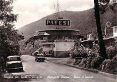 1960 PIANI D'INVREA - VARAZZE (SV) STAZIONE DI SERVIZO / AUTOGRIL PAVESI by  ANGELO BIANCHETTI