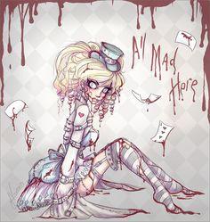 Crazy Alice  by ~NoFlutter  Manga & Anime / Digital Media / Drawings©2009-2012 ~NoFlutter