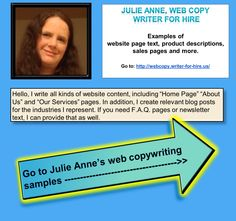 """I write series of #website pages for companies. I strategically place every word on the """"Home page,"""" """"About Us,"""" and """"Services"""" pages. If you need blog content, I can do that as well and add SEO keywords as requested. #copywriting #sample"""