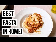 The ultimate guide to dining at the 20 best Rome restaurants from pasta to suppli to pizza to gelato- we have you covered!