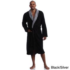 3c4ae30b2f Put on this stylish and comfortable men s bath robe each time you step out  of the