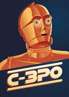 """www.pflegefuermaenner.de - Einer der gepflegteste """"Männer"""" bei Star Wars: C-3PO by Markus Jansson"""