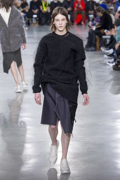 Rick Owens Fall 2018 Menswear Fashion Show Collection