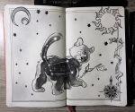 Ursa Minor Constellation by Picolo-kun Constellation Art, Constellations, Ursa Minor, Art Drawings, Paintings, Tattoo, Stencils, Paint, Painting Art