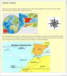 """Unidad 7 de Social Science de 6º de Primaria: """"Spain today: a democratic country"""" English Play, Iberian Peninsula, Balearic Islands, Canary Islands, Social Science, Geography, Spanish, France, Socialism"""