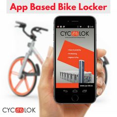 Cyc-lok - Access controlled modular bike parking lockers providing safety and security in a block of 12 lockers per unit equivalent to 1 car parking space. Bike Locker, Parking Solutions, Bike Parking, Access Control, Ios App, Lockers, Android, Book, Easy