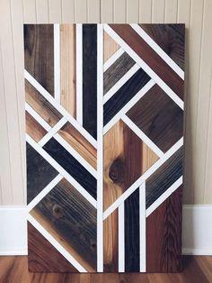 Reclaimed Wood Projects Furniture Diy Wall Art 53 Ideas For 2019 Reclaimed Wood Wall Art, Wooden Wall Decor, Wooden Art, Wooden Walls, Diy Wall Decor, Art Decor, Wall Wood, Salvaged Wood, Boho Decor