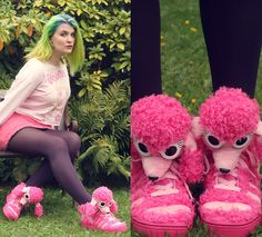 You can see more pictures from this look on my Blog TEACATSANDGLITTER.DE  #jeremyscott #pink #fluffy #allpinkeverything #primark #pastel #neon #voodoogirl #fashionblogger #fashionblogger_de #hamburg #germany
