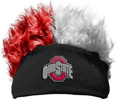 Ohio State Buckeyes Flair Hair Beanie. Visit SportsFansPlus.com for Details.