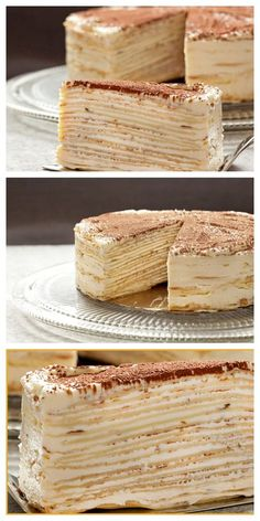 """CREPVILLE"" cake - I want to eat everything, how delicious it is. ""CREPVILLE"" cake - I want to eat everything, how delicious it is.- ""CREPVILLE"" cake - I want to eat everything that is Easy Cake Recipes, Dessert Recipes, Ballerina Cakes, Russian Recipes, Pastry Cake, Sweet Cakes, Seafood Dishes, Food Cakes, Creative Food"