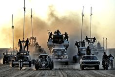 Pic from the upcoming new Mad Max: Fury Road movie. So. Awesome.
