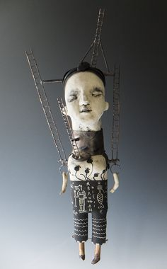 Morgan Brig   Mixed Media Sculpture - this might be my favorite