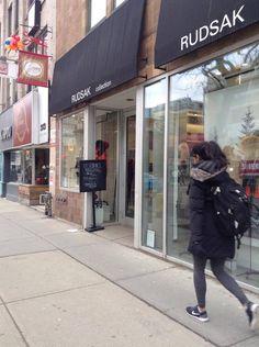 Rudsak at Queen street: Personally taken photograph