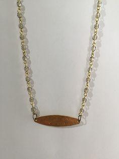 Handmade necklace by OAKlinzy on Etsy https://www.etsy.com/listing/262408519/handmade-necklace