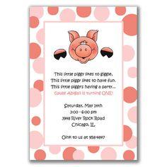 pig invites