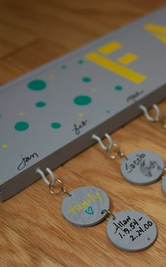 DIY- Family Birthday Board with instructions