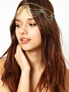 Its sassy! Its bohemia! Head chains @ Rs820/-