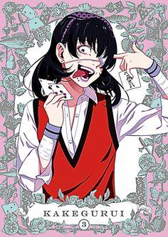Anime : Kakegurui  Character : Midari Ikishima