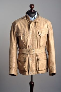 Rare-BELSTAFF-Panther-80s-Anni-Uranium-Jubiles-Leather-Biker-Jacket-Coat-M-L