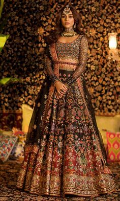 Bridal lehenga Store strongly believes that the ultimate empowerment is to wear something incredibly simple! Also, worldwide shipping is available. Asian Bridal Dresses, Desi Wedding Dresses, Asian Wedding Dress, Pakistani Wedding Outfits, Indian Bridal Outfits, Indian Bridal Fashion, Pakistani Bridal Dresses, Indian Fashion Dresses, Dress Indian Style