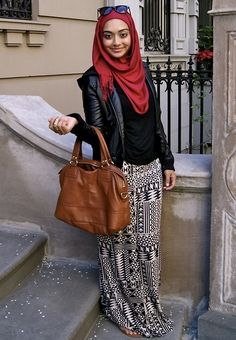 Hijab tropical pants
