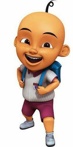 Upin Cartoon Pics, Cartoon Characters, Art N Craft, Doraemon, 3d Character, Disney Channel, Cake Toppers, Children, Kids
