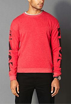 East West Sweatshirt | 21 MEN - 2000090333 #F21Crush