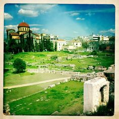 Kerameikos ancient cemetery, Athens. Copyright of Alexia Amvrazi.