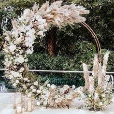 Modern Wedding Backdrop - - - Wedding Reception On A Budget - Burgundy Wedding Boho - Wedding Ceremony Arch, Wedding Stage, Dream Wedding, Wedding Happy, Wedding Backdrops, Wedding Ceremony Decorations, Spring Wedding, Wedding Swing, Wedding Backdrop Design