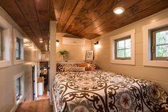 Gooseneck Bedroom - Retreat by Timbercraft Tiny Homes