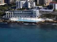 Bondi Icebergs Club, Bondi Beach. The club is their casual pub. The food is similar to North Bondi RSL, and the view is equally, if not more, amazing. We try to take most visitors here, because you get to sit and enjoy a lovely view and a beer.