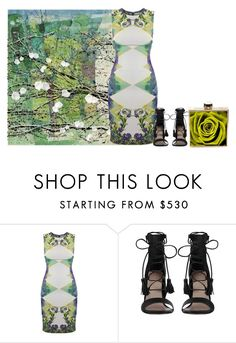 """""""Untitled #5021"""" by lovetodrinktea ❤ liked on Polyvore featuring Versace and Zimmermann"""