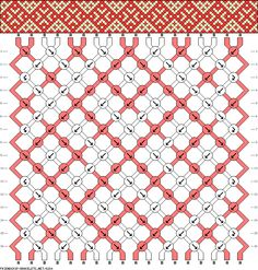 18 strings 16 rows 2 colors