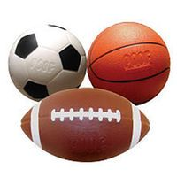 This 3 in 1 pack includes a soccer ball, football and basketball that are all made for smaller hands! Realistic looking sport balls that are both soft and safe! A more realistic 3 pack of sport balls! Kick one, shoot one, throw one, and have a ball doing it! Find a wide range of Poof-Slinky toys at Toys'R'Us.com! Poof-Slinky manufactures the POOF foam ball line and Slinky spring toys in the United States. Other products of POOF include the Classic Ideal construction toys and tabletop games…