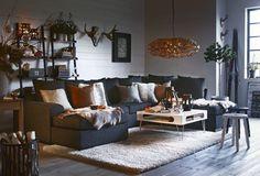 Vita pussel bitar: Julinspiration från Mio Simple Christmas, Living Spaces, Cozy, Interior Design, Furniture, Home Decor, Nest Design, Decoration Home, Home Interior Design