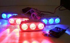 34.50$  Watch now - http://alicb4.shopchina.info/go.php?t=32251110003 - Wireless remote Free ship!DC12V 12W Led grille lights,Led flash headlight,Led warning light,LED Daytime Running Lights(4pcs/set)  #magazineonline