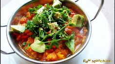 Raw Vegan Tomato Stew   Rawmunchies.org  #RECIPE HERE: http://www.rawmunchies.org/recipes #Raw #vegan #rawvegan #stew #tomatostew #tomatosoup #avocado #youtubevideo #youtuberecipe