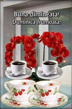 Imagini buni dimineata si o zi frumoasa pentru tine! - BunaDimineataImagini.ro Good Morning, Mugs, Tableware, Sunday, Google, Buen Dia, Dinnerware, Domingo, Bonjour