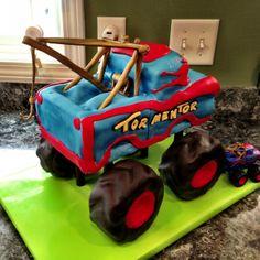 Tormentor Monster Truck Mater Cake