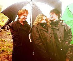 C'mon Rupert! Hug her! she's cold!